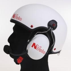 Painted carbon helmet...